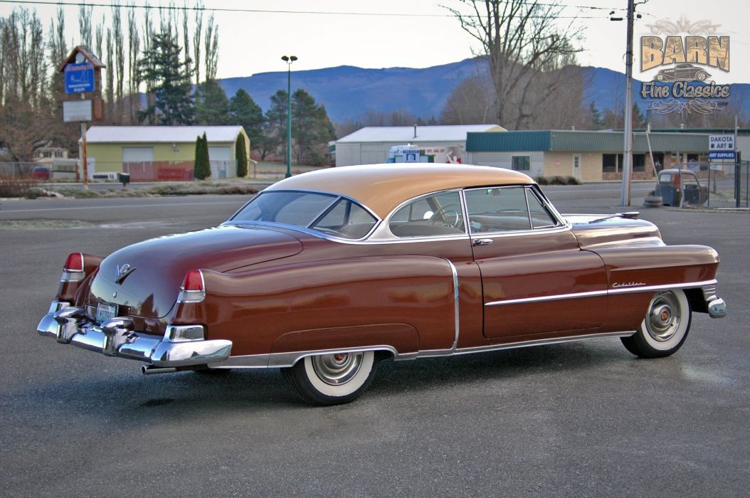 1951 Cadillac Series 62 Classic Old Vintage USA 1500x1000-02 wallpaper