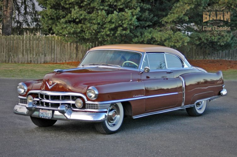 1951 Cadillac Series 62 Classic Old Vintage USA 1500x1000-01 wallpaper