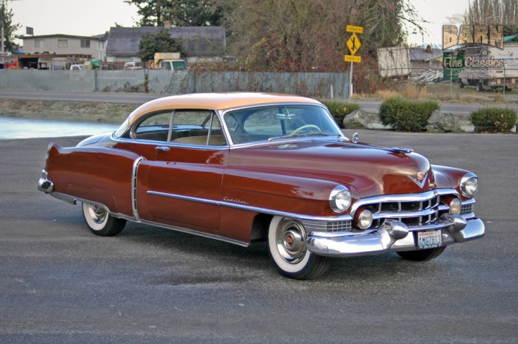 1951 Cadillac Series 62 Classic Old Vintage USA 1500x1000-05 wallpaper