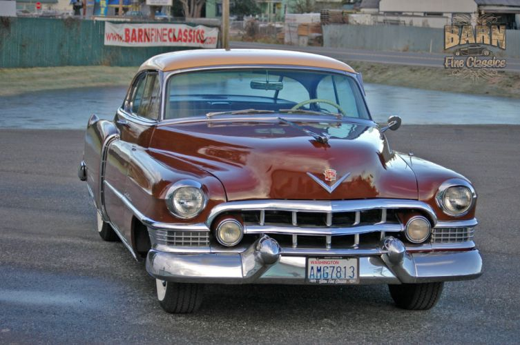 1951 Cadillac Series 62 Classic Old Vintage USA 1500x1000-07 wallpaper