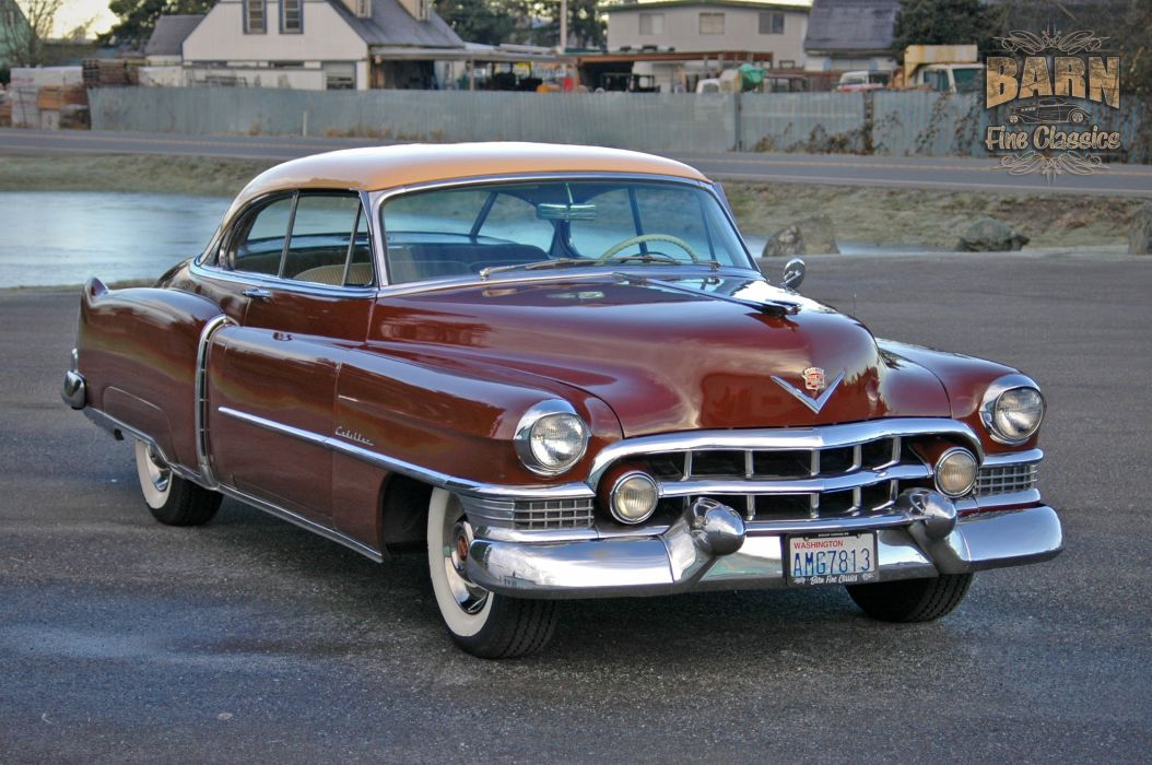 1951 Cadillac Series 62 Classic Old Vintage USA 1500x1000-06 wallpaper