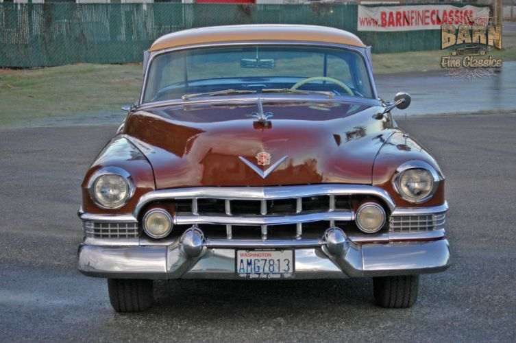 1951 Cadillac Series 62 Classic Old Vintage USA 1500x1000-08 wallpaper