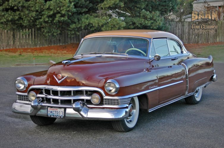 1951 Cadillac Series 62 Classic Old Vintage USA 1500x1000-10 wallpaper