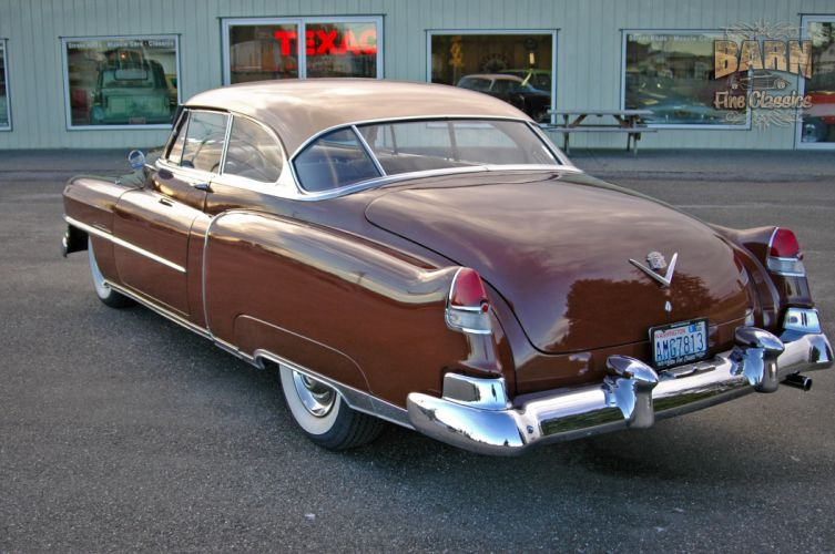 1951 Cadillac Series 62 Classic Old Vintage USA 1500x1000-14 wallpaper