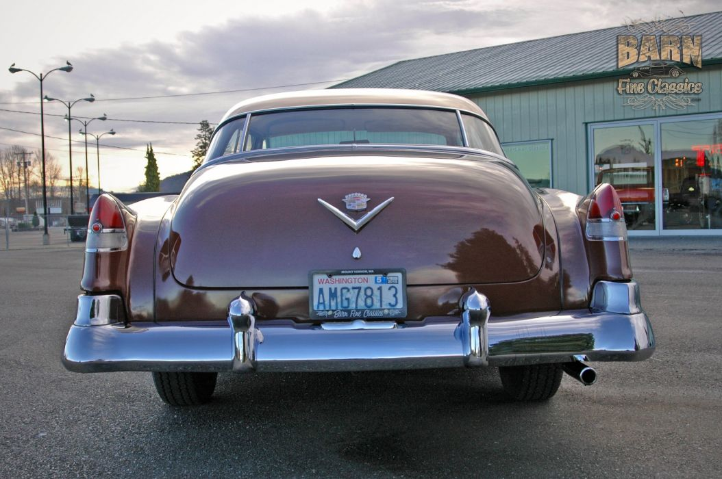 1951 Cadillac Series 62 Classic Old Vintage USA 1500x1000-17 wallpaper