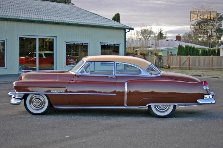1951 Cadillac Series 62 Classic Old Vintage USA 1500x1000-20 wallpaper