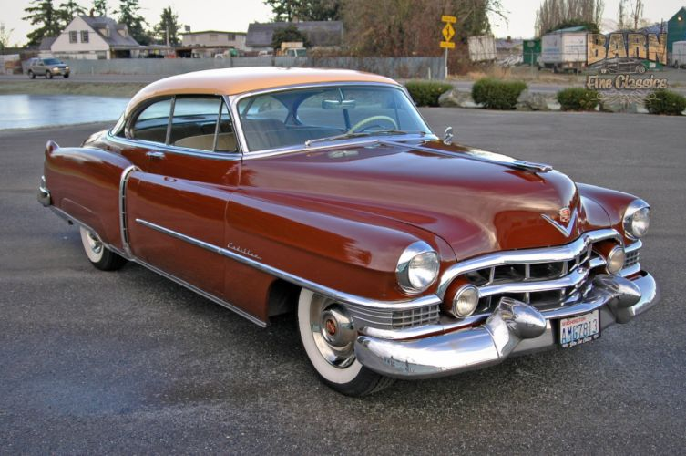 1951 Cadillac Series 62 Classic Old Vintage USA 1500x1000-21 wallpaper