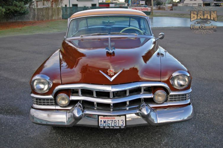 1951 Cadillac Series 62 Classic Old Vintage USA 1500x1000-23 wallpaper