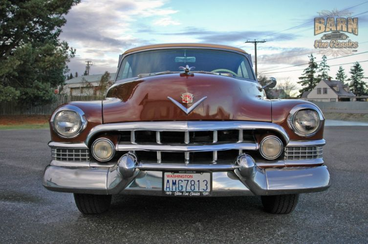 1951 Cadillac Series 62 Classic Old Vintage USA 1500x1000-24 wallpaper