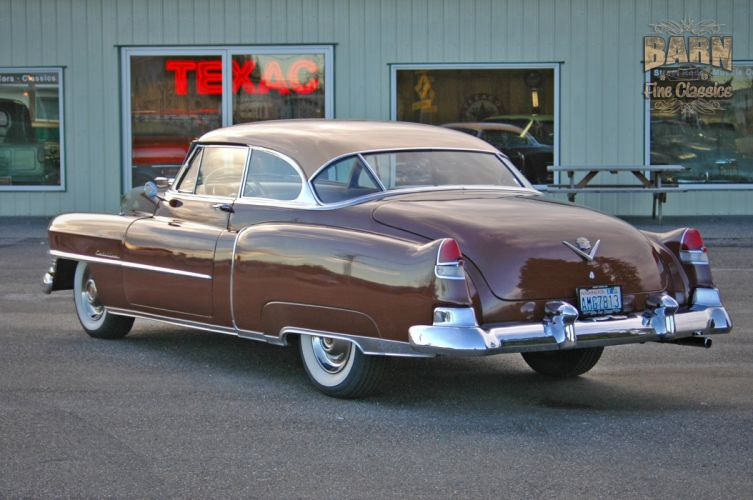 1951 Cadillac Series 62 Classic Old Vintage USA 1500x1000-26 wallpaper