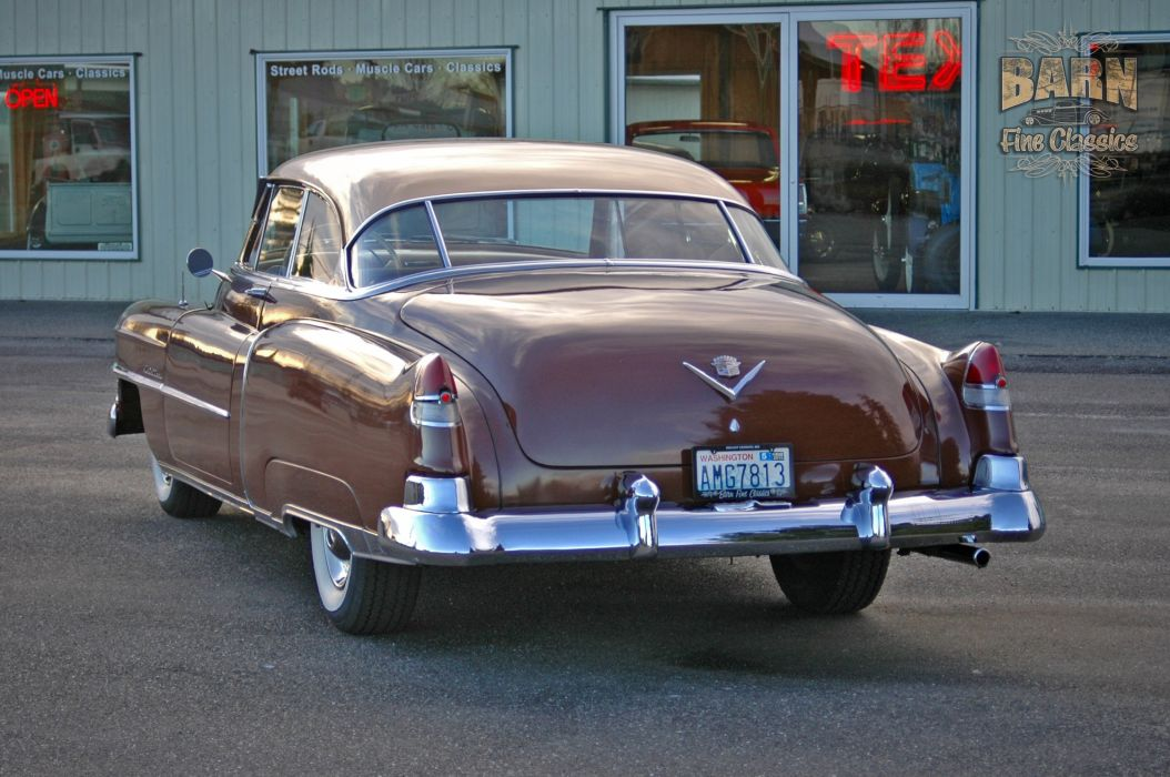1951 Cadillac Series 62 Classic Old Vintage USA 1500x1000-27 wallpaper