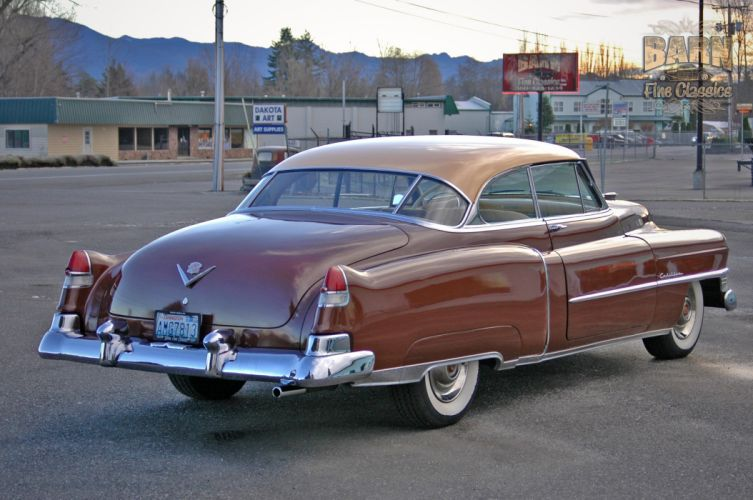 1951 Cadillac Series 62 Classic Old Vintage USA 1500x1000-30 wallpaper