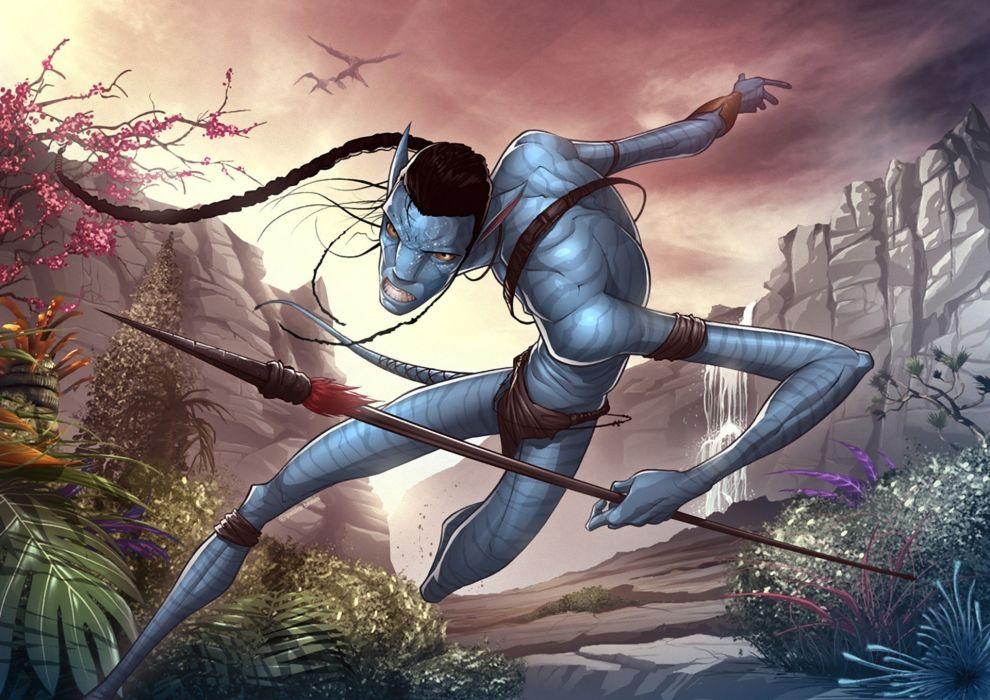 Avatar Fantasy Action Adventure Sci Fi Futuristic Alien
