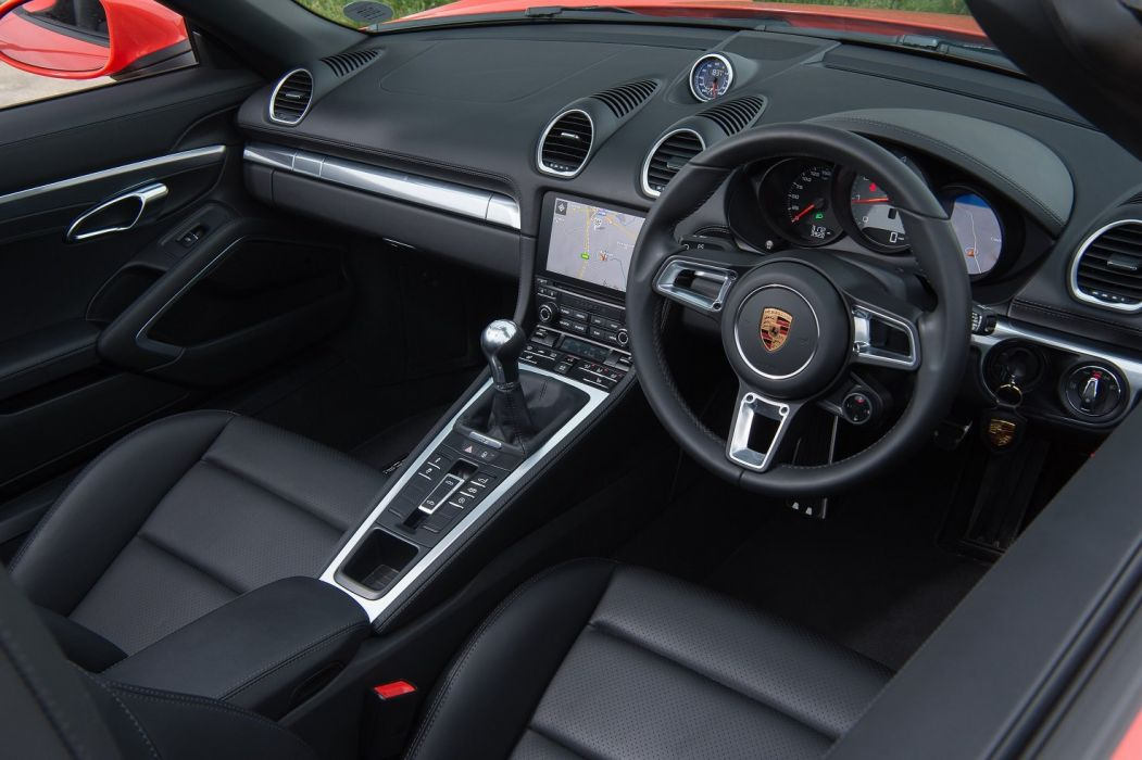 2016 Porsche 718 Boxster S cars UK-spec (982) wallpaper