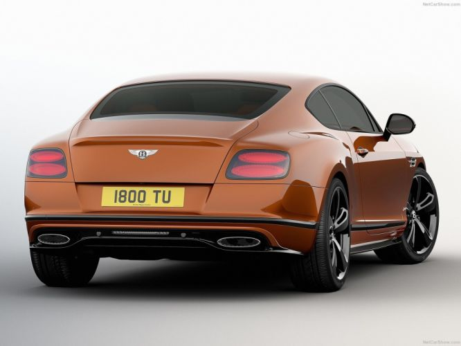 Bentley Continental GT Speed Black Edition cars 2016 wallpaper