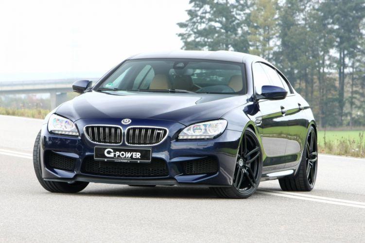 G-Power BMW M6 F06 cars modified wallpaper