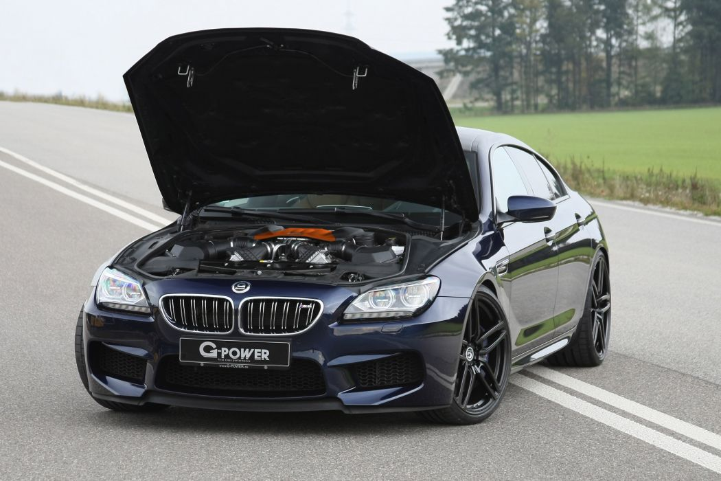 G-Power BMW M6 F06 cars modified wallpaper