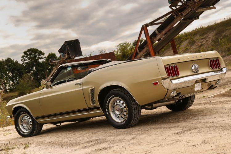 1969 Ford Mustang Convertible S-Code Shape Shifter Rare Muscle Original USA -09 wallpaper