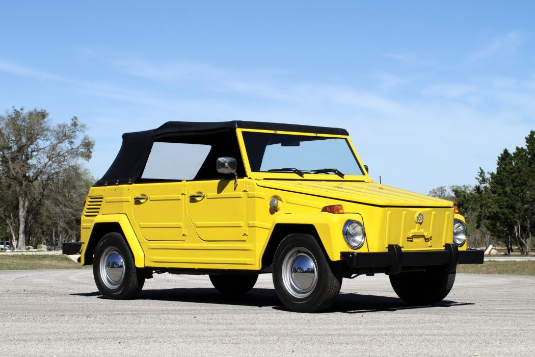 1974 Volkswagen The Thing Type 181 Cars Classic Convertible Wallpaper 4096x2731 923331 Wallpaperup