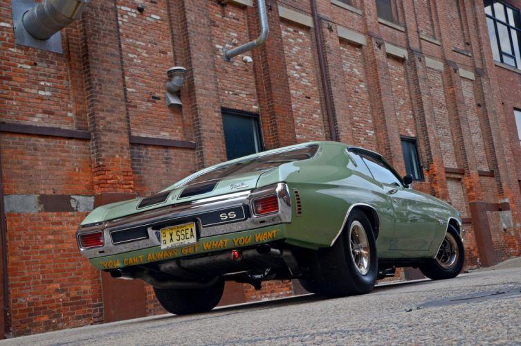 1970 Chevrolet Chevelle Drag 454 SS Super Street Pro Stock Dragster Super Car USA -12 wallpaper