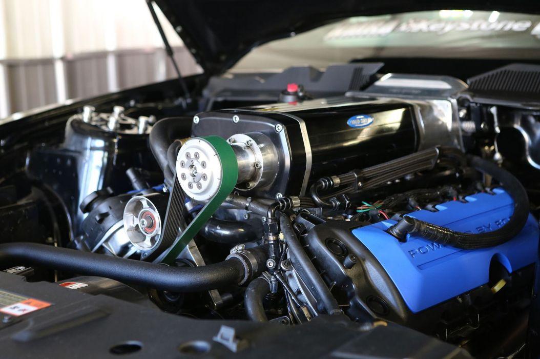2013 Ford Mustang Cobra Jet Drag Dragster Johnny Lightning Wiker Pushes Race USA -05 wallpaper