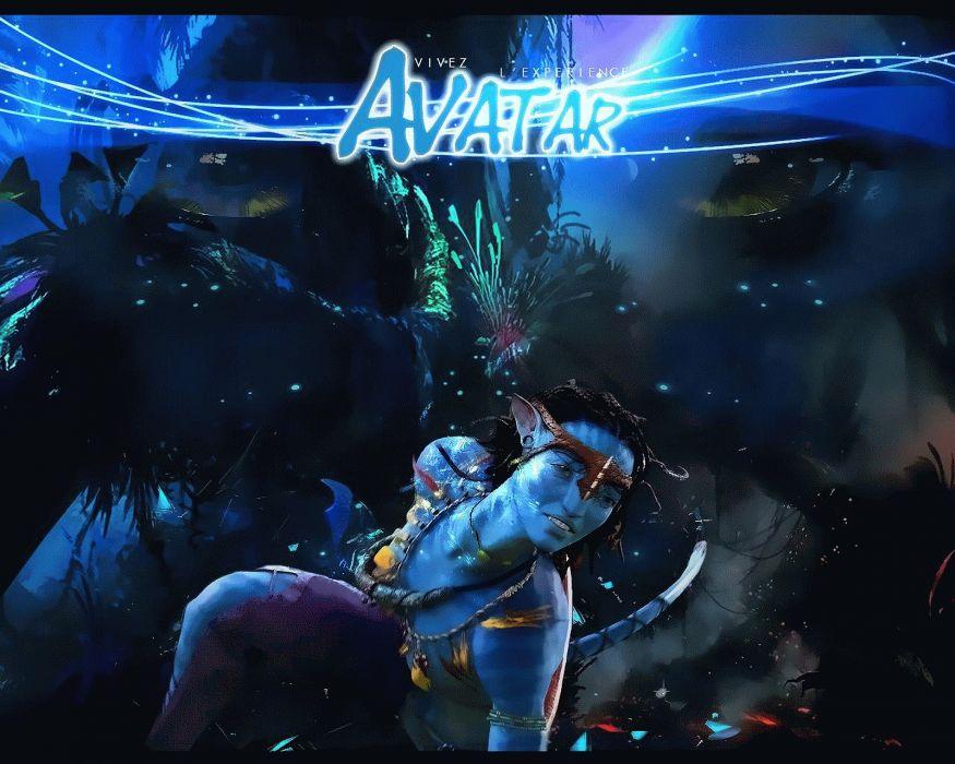 AVATAR fantasy action adventure sci-fi futuristic alien aliens warrior fighting disney poster wallpaper
