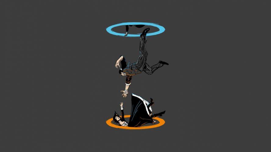 BIOSHOCK fantasy sci-fi shooter action cyborg fighting robot warrior futuristic portal wallpaper
