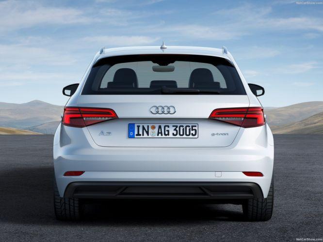 Audi A3 Sportback g-tron cars 2016 wallpaper