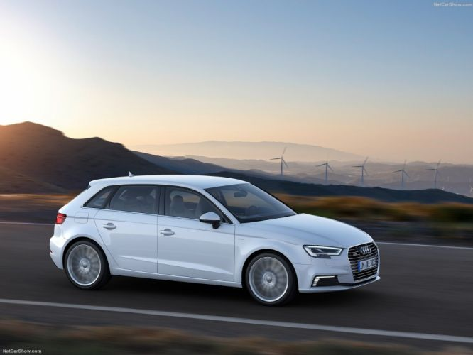 Audi A3 Sportback e-tron cars electric 2016 wallpaper