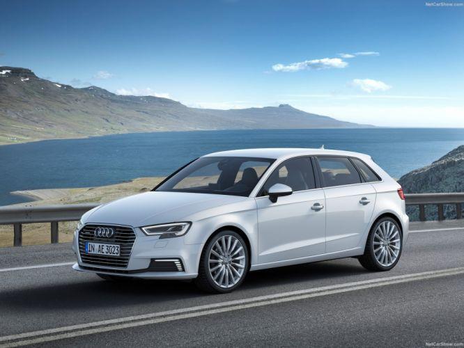Audi A3 Sportback e-tron cars electric 2016 wallpaper