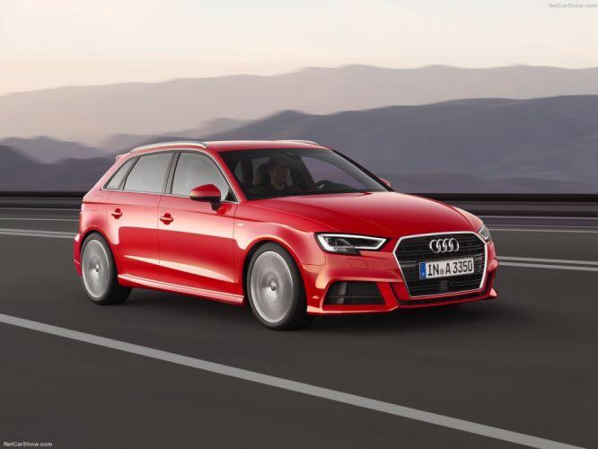 Audi A3 Sportback cars 2016 wallpaper