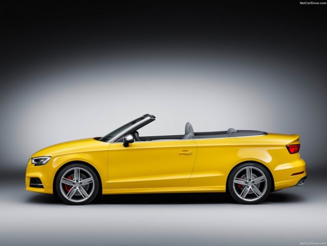 Audi S3 Cabriolet cars 2016 wallpaper