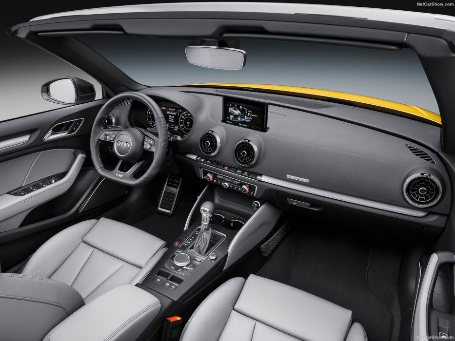 Audi S3 Cabriolet cars 2016 wallpaper
