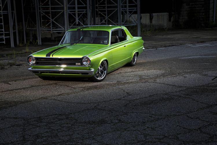 1965 Dodge Dart cars coupe green classic modified wallpaper