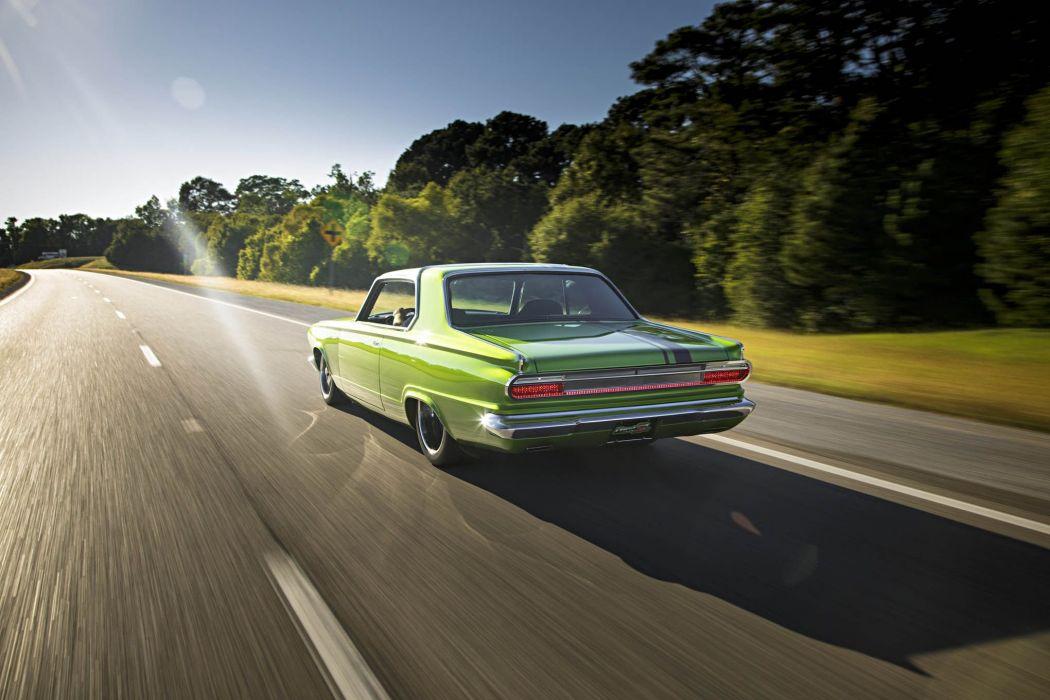 1965 Dodge Dart Big Oak Pro Touring Street Drag Hot Super Car USA -04 wallpaper