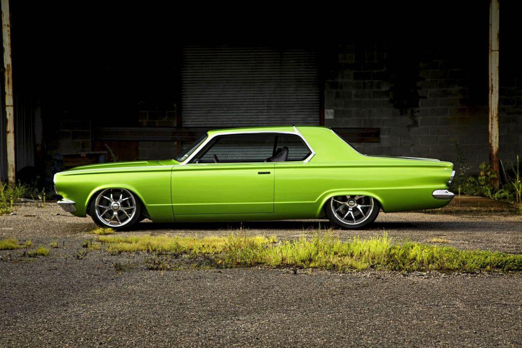 1965 Dodge Dart Big Oak Pro Touring Street Drag Hot Super Car USA -19 wallpaper