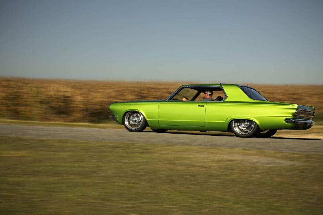 1965 Dodge Dart Big Oak Pro Touring Street Drag Hot Super Car USA -45 wallpaper