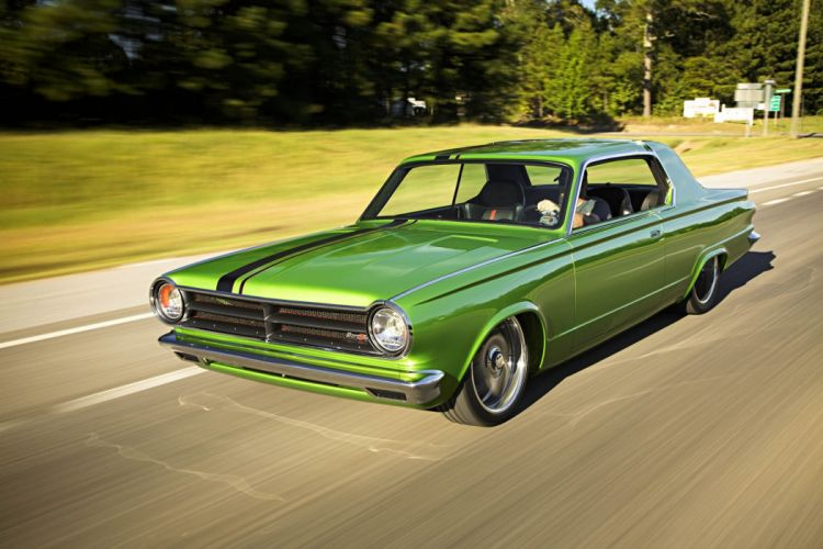 1965 Dodge Dart Big Oak Pro Touring Street Drag Hot Super Car USA -47 wallpaper
