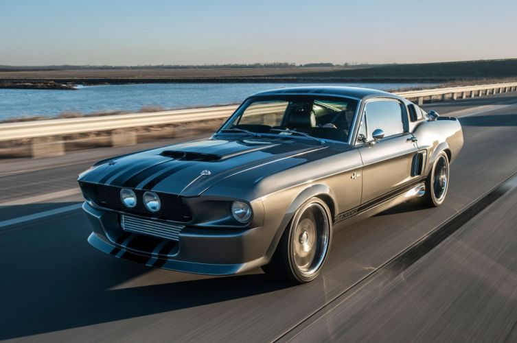 1967 Ford Mustang Shelby GT-500CR Pro Touring Super Street Hot USA -02 wallpaper