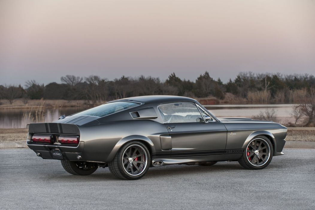 1967 Ford Mustang Shelby GT-500CR Pro Touring Super Street Hot USA -01 wallpaper