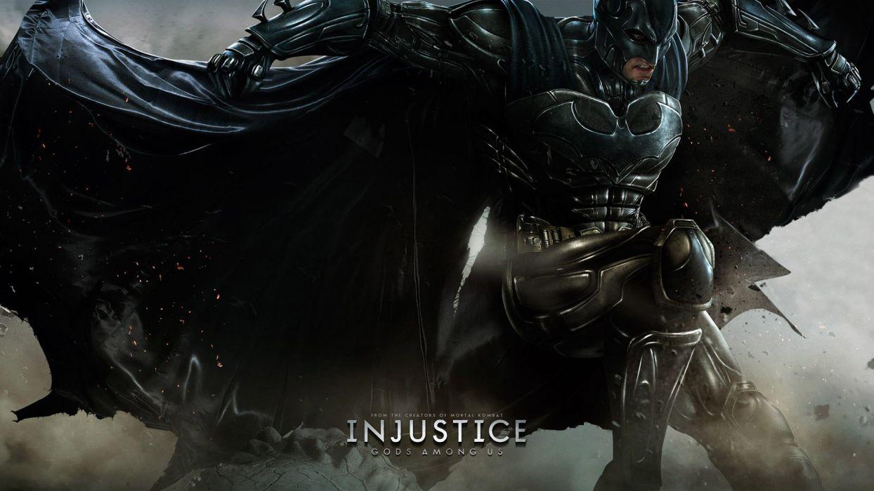 INJUSTICE Gods Among Us action fighting hero superhero warrior poster wallpaper