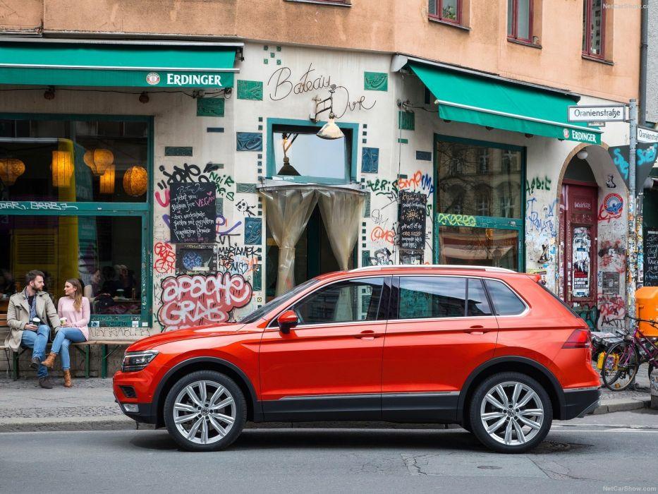 Volkswagen Tiguan cars suv 2016 wallpaper