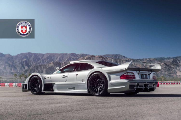 2016 Mercedes Benz CLK GTR HRE Wheels cars wallpaper