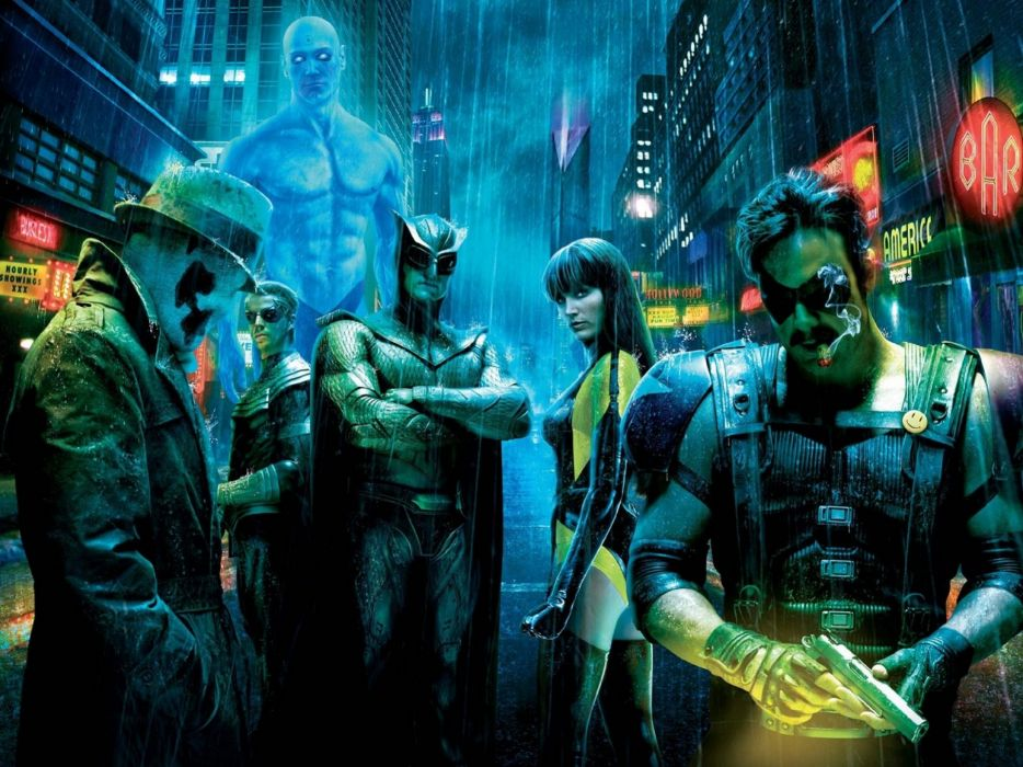 WATCHMEN action sci-fi comics superhero dc-comics wallpaper