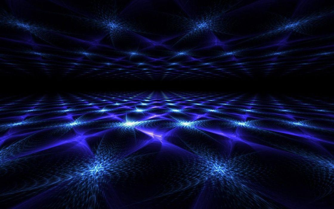 abstracto dark azul luces wallpaper
