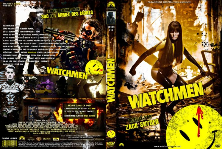 WATCHMEN action sci-fi comics superhero dc-comics poster wallpaper