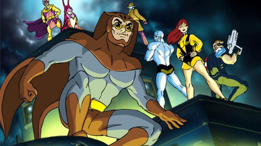 WATCHMEN action sci-fi comics superhero dc-comics wallpaper