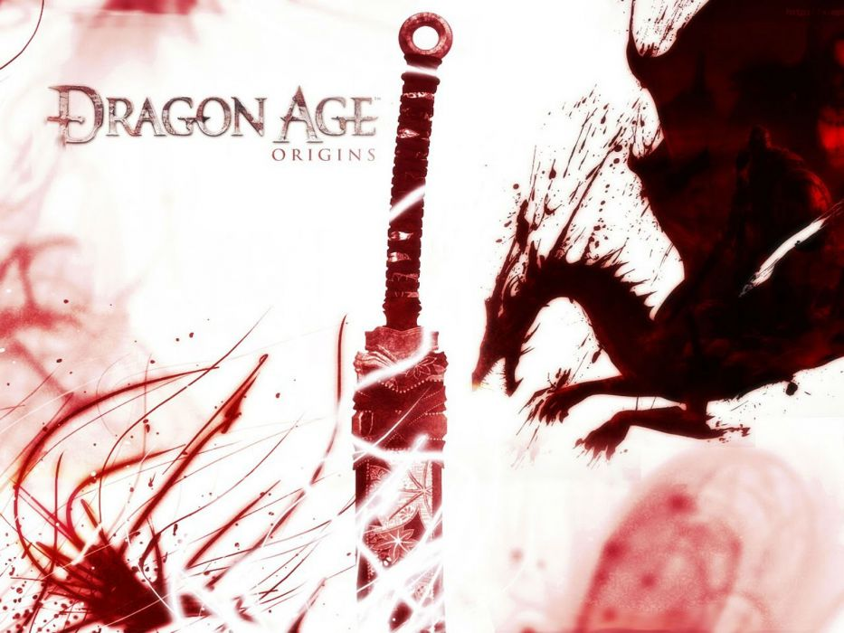 DRAGON AGE fantasy rpg origins inquisition warrior adventure action rpg poster wallpaper