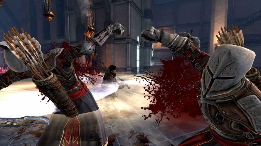 DRAGON AGE fantasy rpg origins inquisition warrior adventure action rpg wallpaper