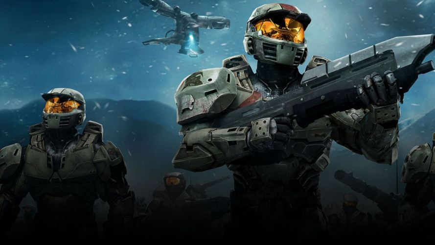 HALO shooter fps action sci-fi warrior futuristic tactical stealth armor wallpaper